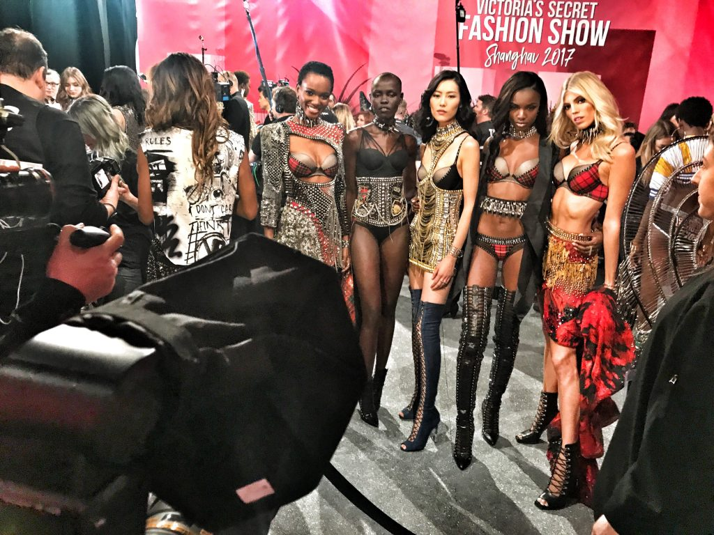 victoria's secret fashion show shanghai china