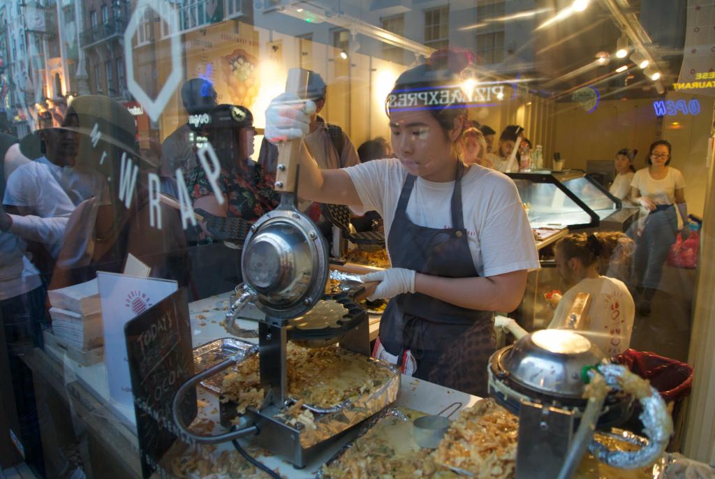 Bubblewrap Waffle London