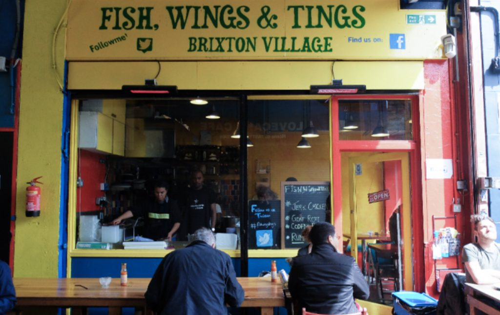Fish Wings & Tings Brixton
