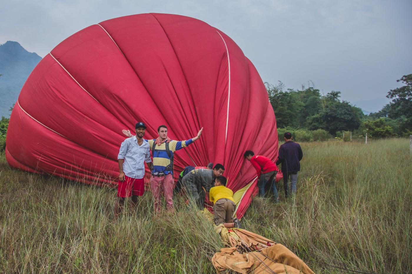 Hot Air Balloon Rides In Laos
