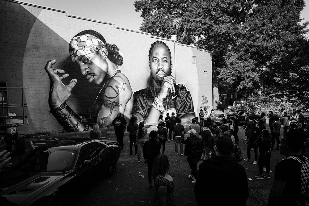 Outkast Fans Are Flocking To See This New Atlanta Mural