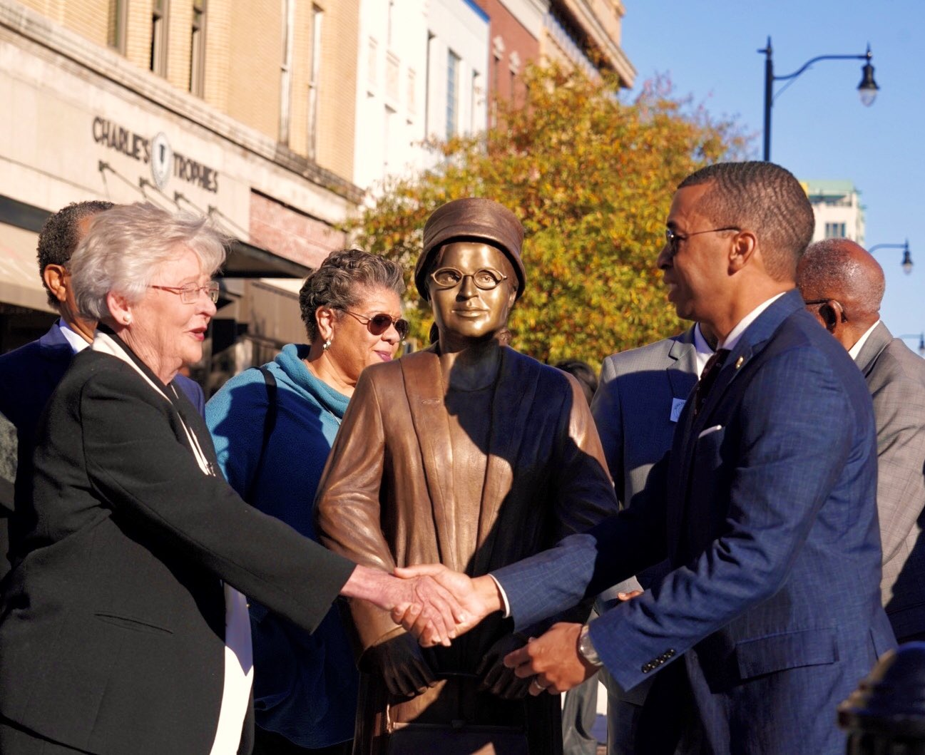 Montgomery, Alabama Blessed With Rosa Parks Statue