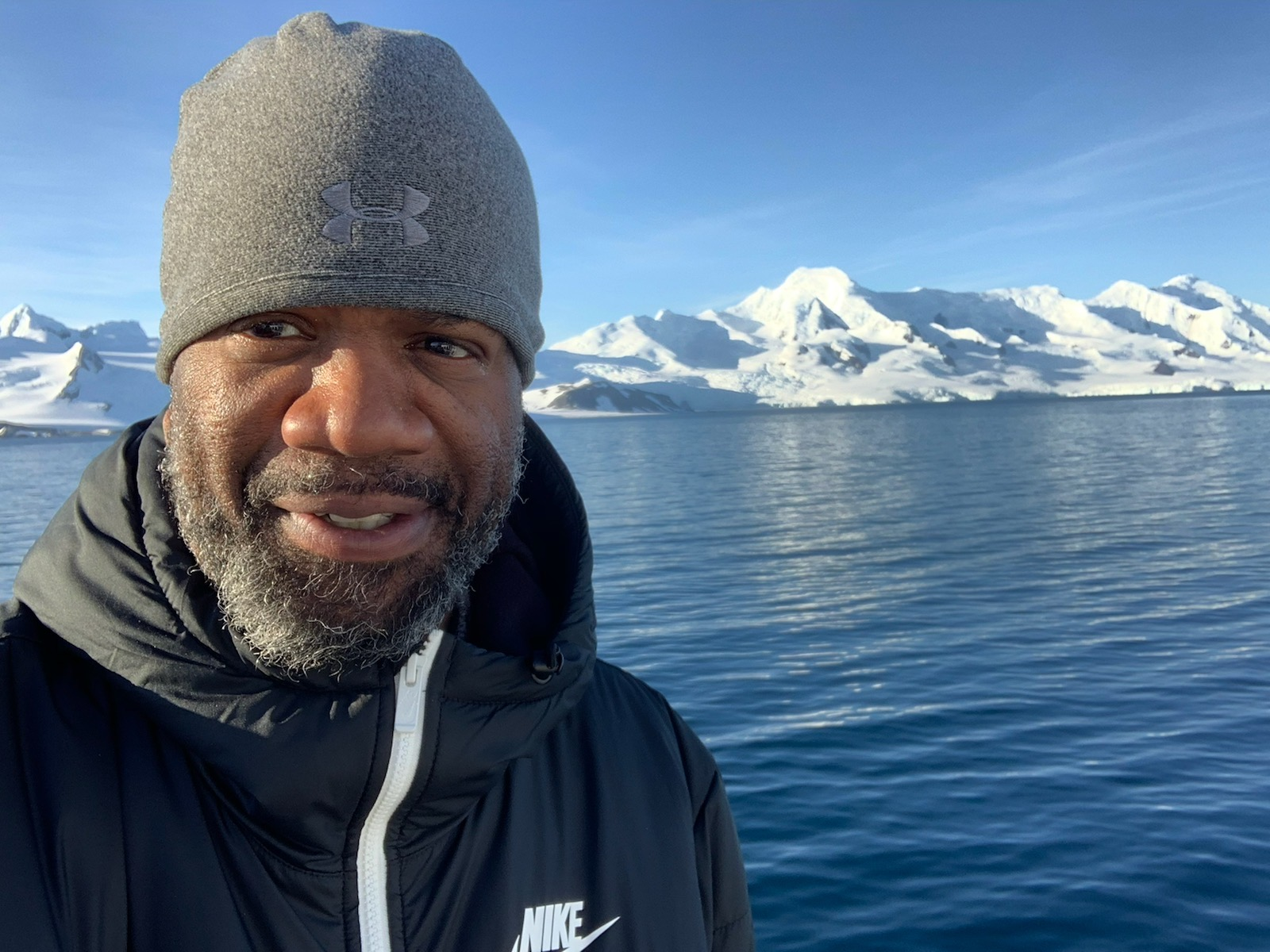 Black People In Antartica