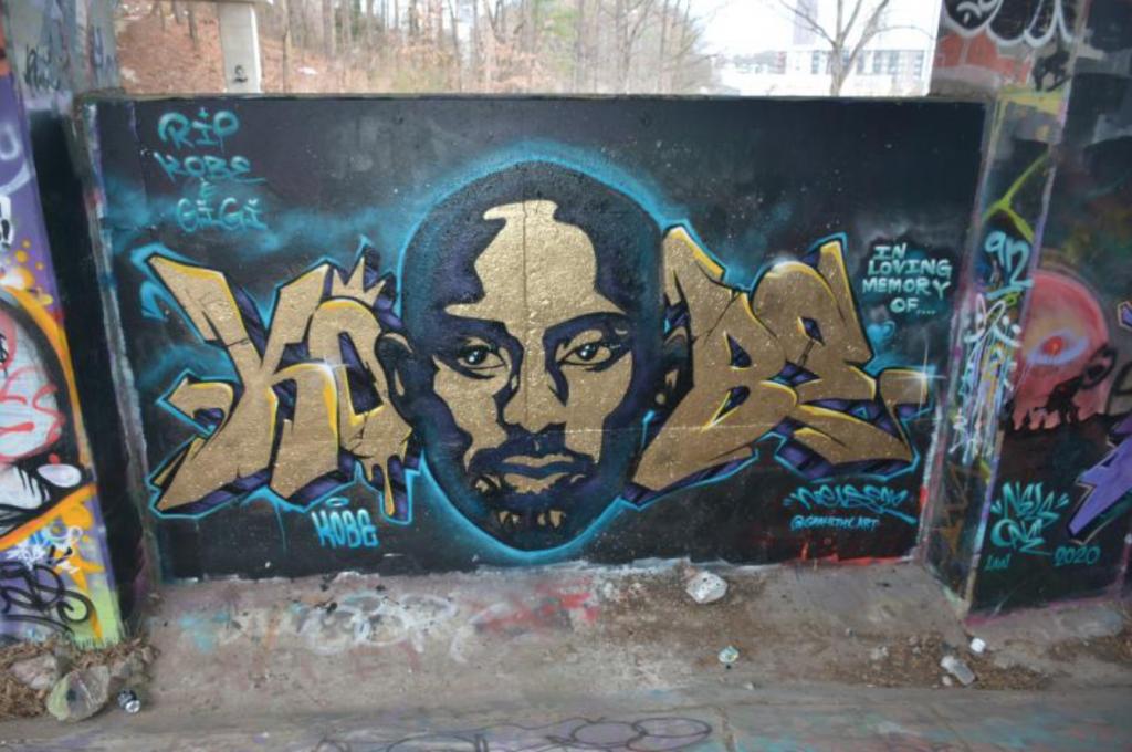 Kobe Bryant mural Atlanta