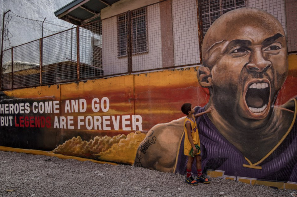 Kobe Mural in The phillipines