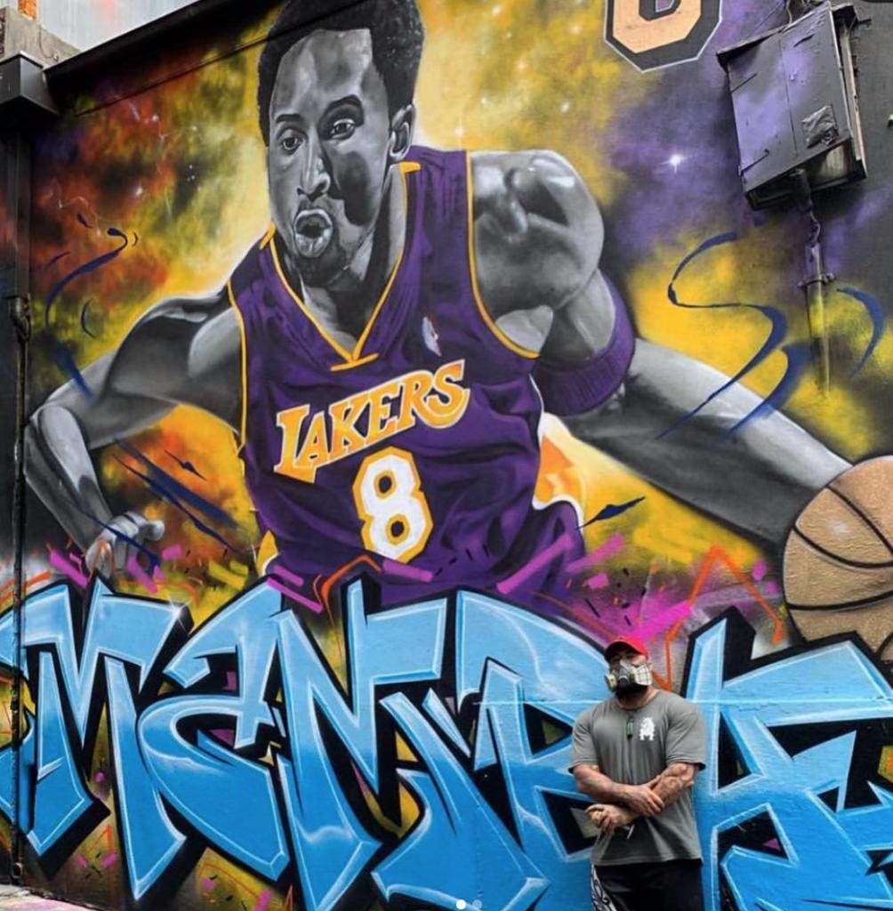 Kobe Bryant Tribute Mural in Australia