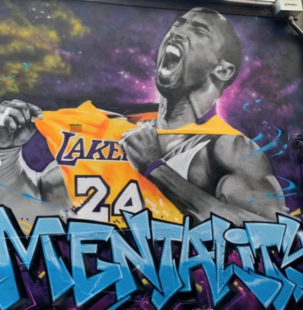 Kobe Bryant Mural in Australia