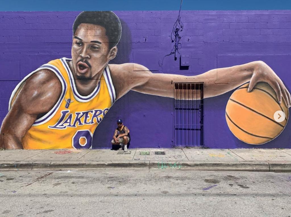 Kobe Bryant Mural Miami