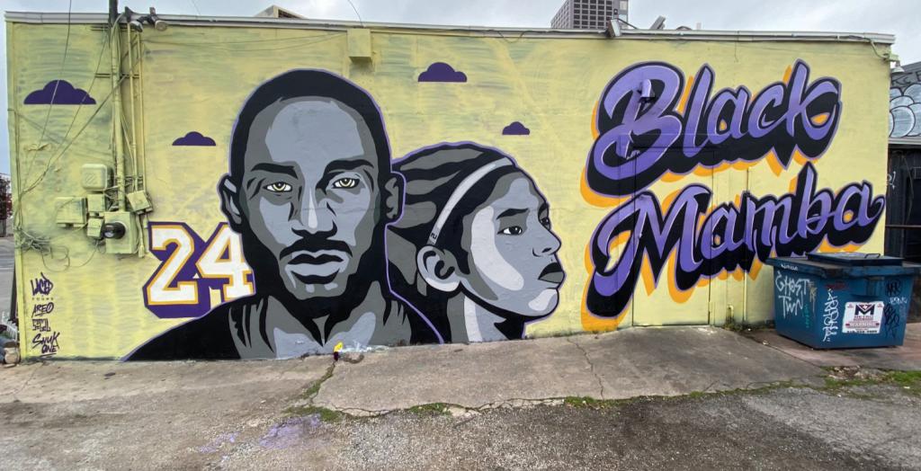 Kobe Bryant Mural Austin, Texas