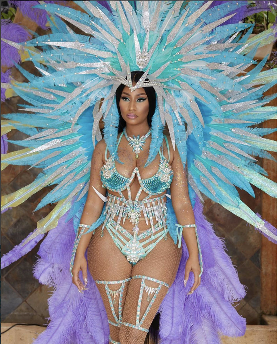 Peep The Best Costumes & Photos From Trinidad's Carnival 2020
