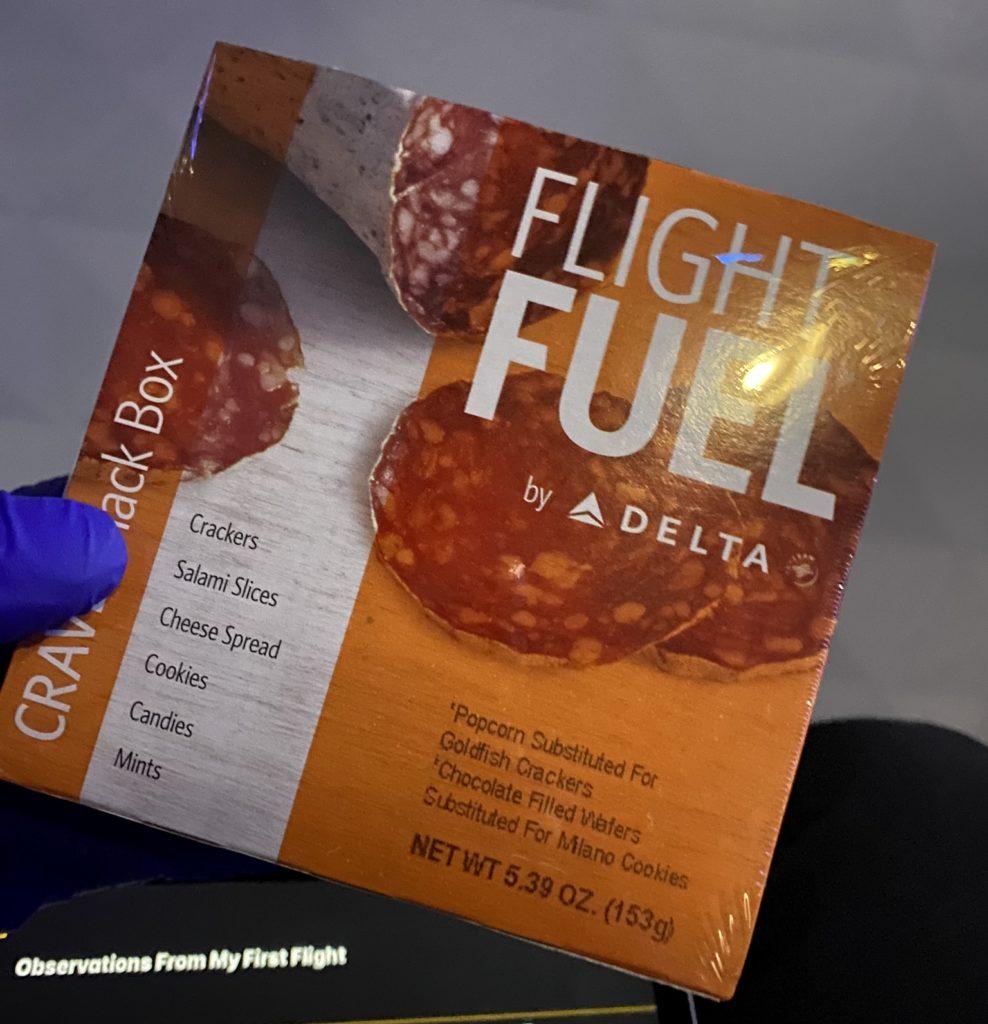 Flight snack