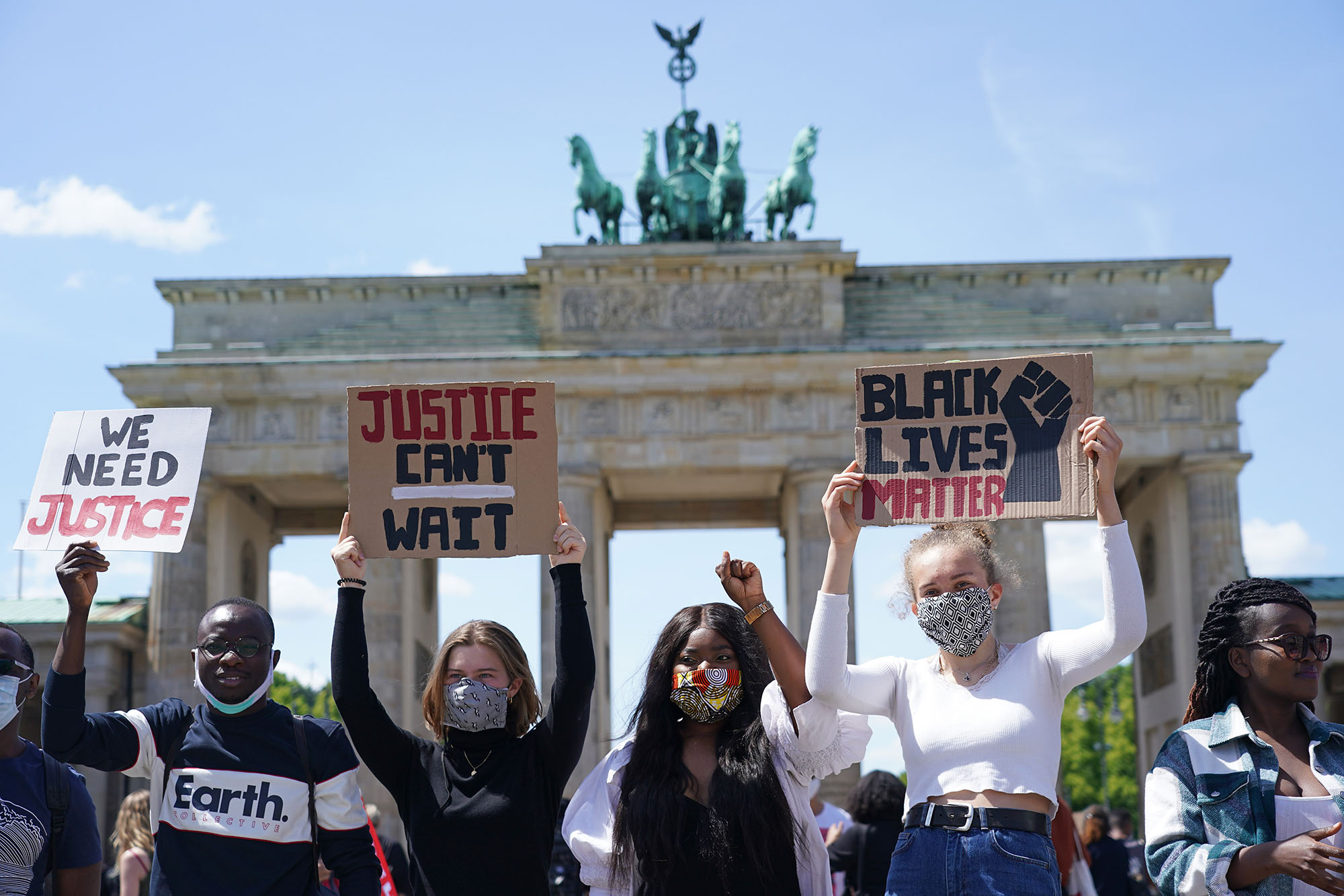 These International Cities Are Showing Up For Black Lives Matter And George Floyd