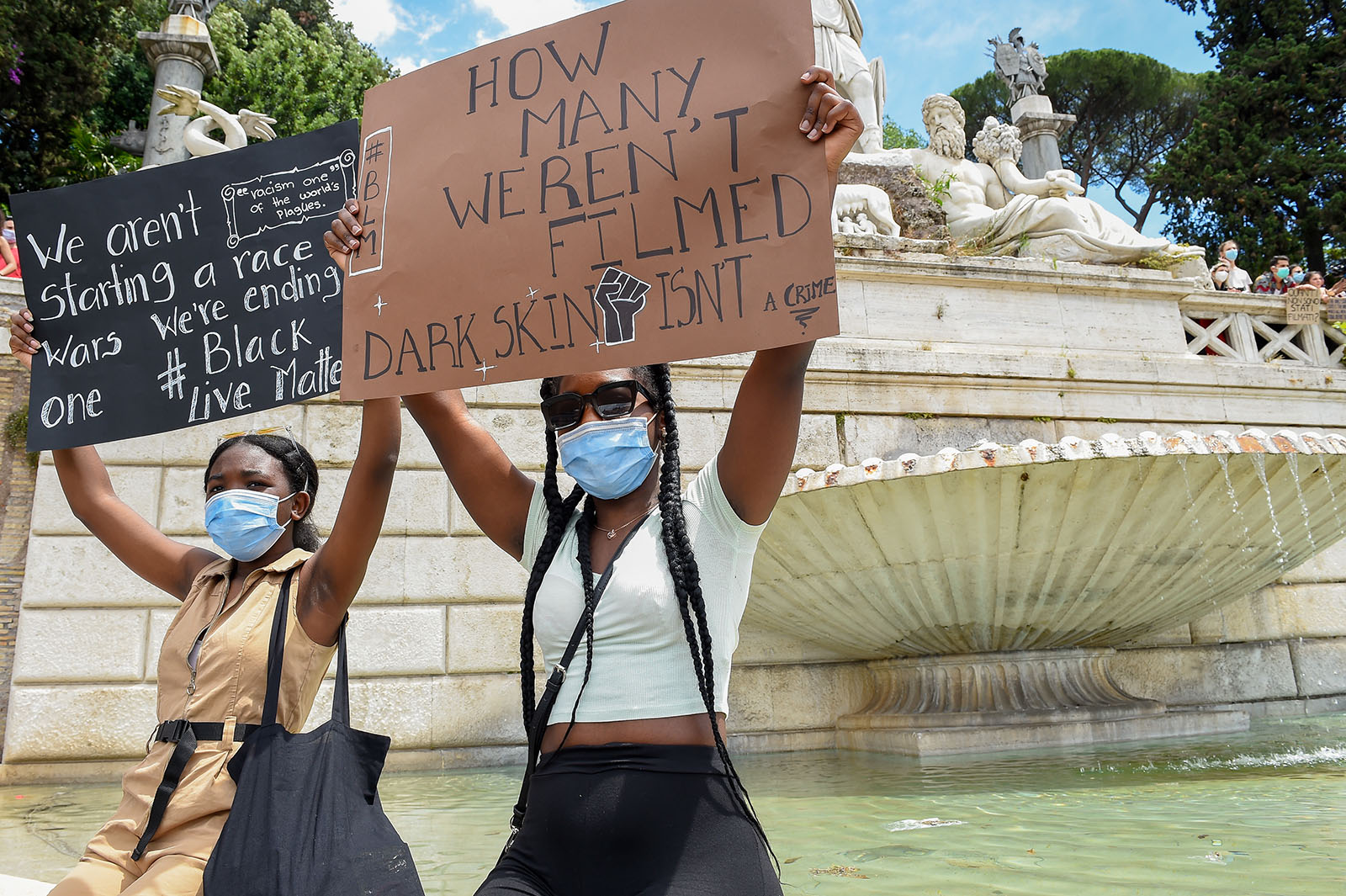 Yessir! Europe's Streets Are Jammed With Black Lives Matter Protests Too!